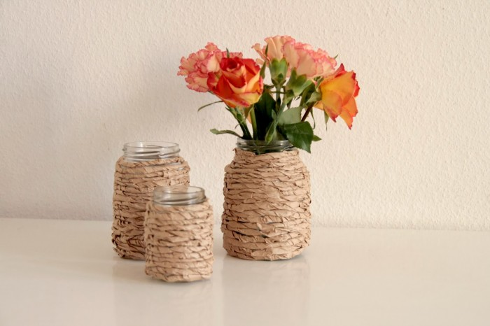Upcycling Vasen