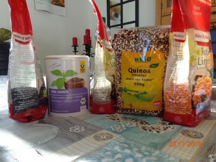Man muss nicht immer Saatgut kaufen, viele keimfähige Samen gibt es auch im Handel oder den Reformhäusern zu kaufen