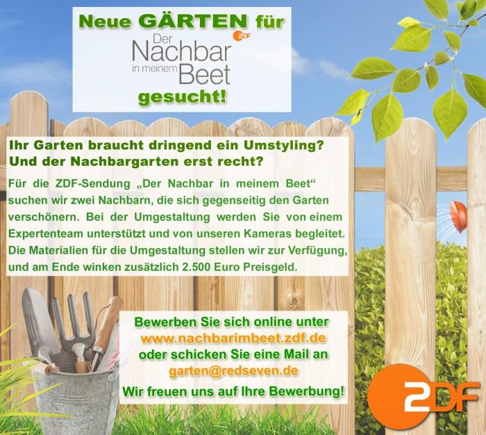 ZDF Garten gesucht