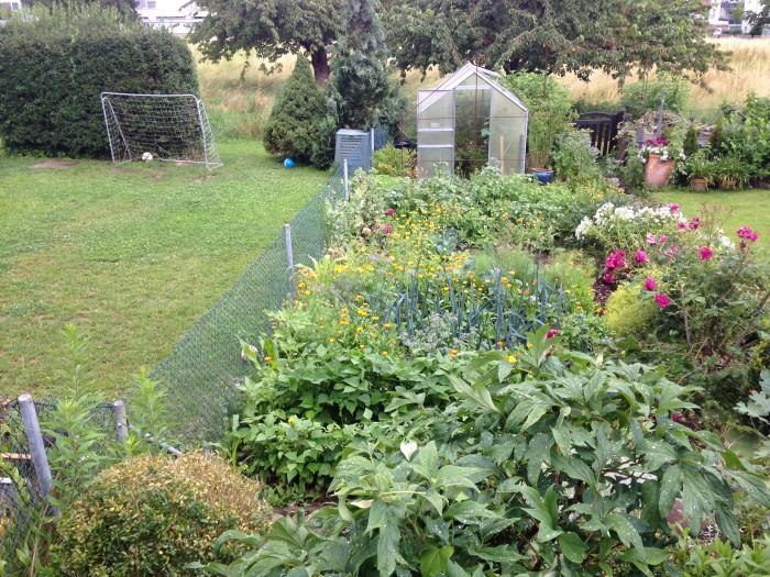 Garten Vergleich