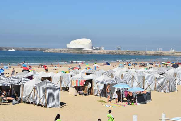 Strand in Porto