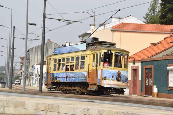 Strassenbahn in Porto