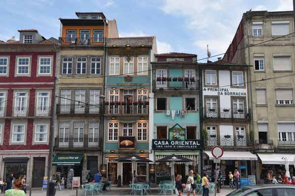 Typische Häuser in Portugal
