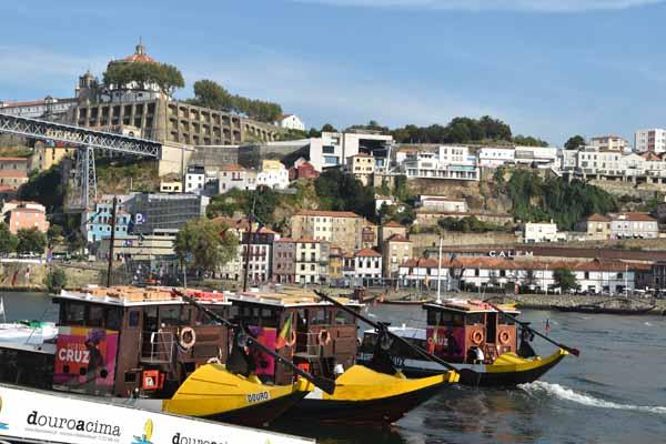 Rabelo-Boote in Porto