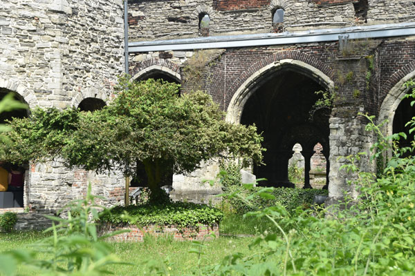 Sint-Baafsabdij Kloster in Gent