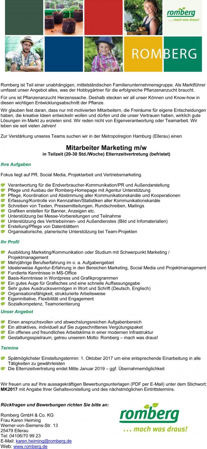 Jobs bei Romberg