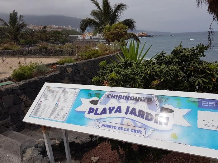 Playa Jardin, Puerto de la Cruz, Teneriffa, Kanaren,
