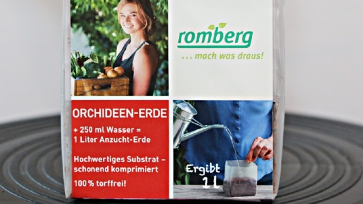 Feinstes POP UP Orchideen-Substrat von Romberg