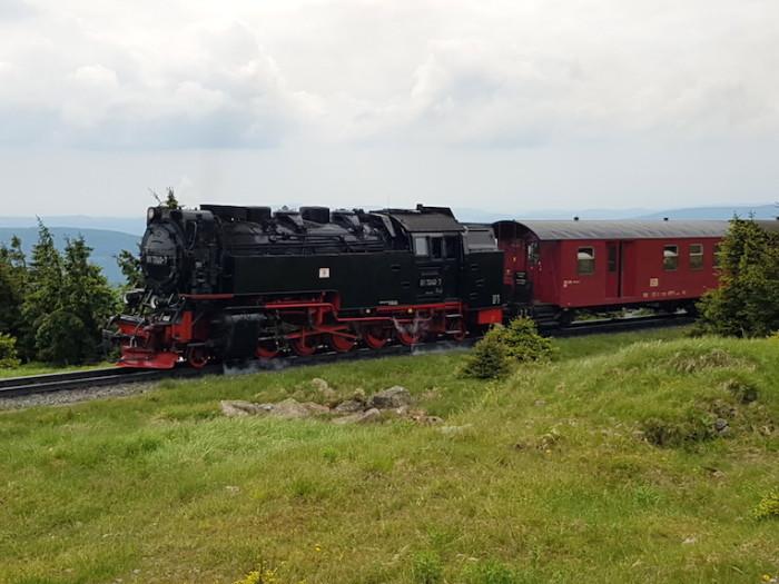 Und nicht zu vergessen: die Brockenbahn! © Andreas Holling