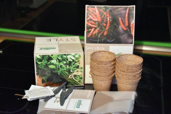 Fresh Box und Spicy Box von Romberg