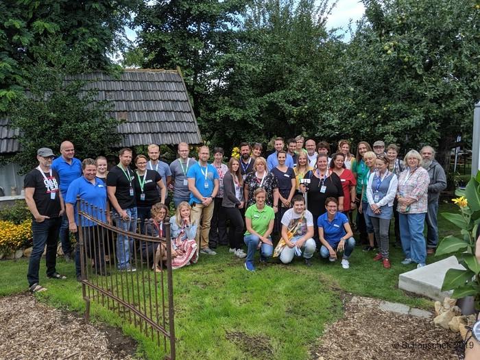 Gruppenfoto vom 1. Gartenblogger-Treffen in Füchtorf